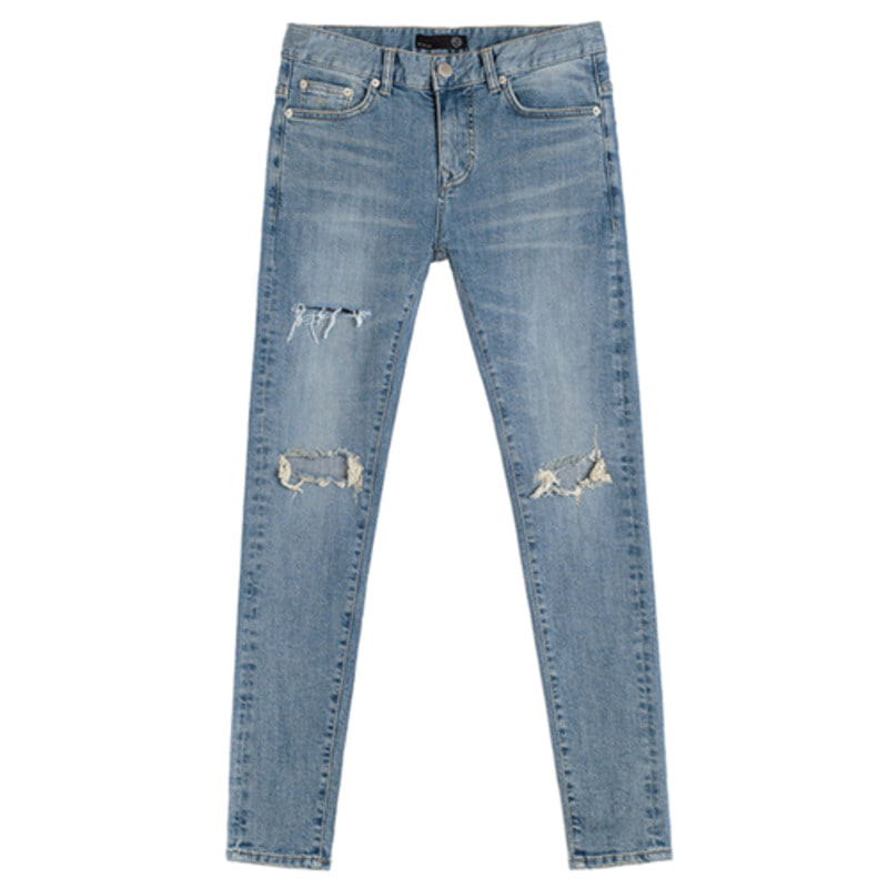 86RJ-1601 cutting destroyed washing jeans