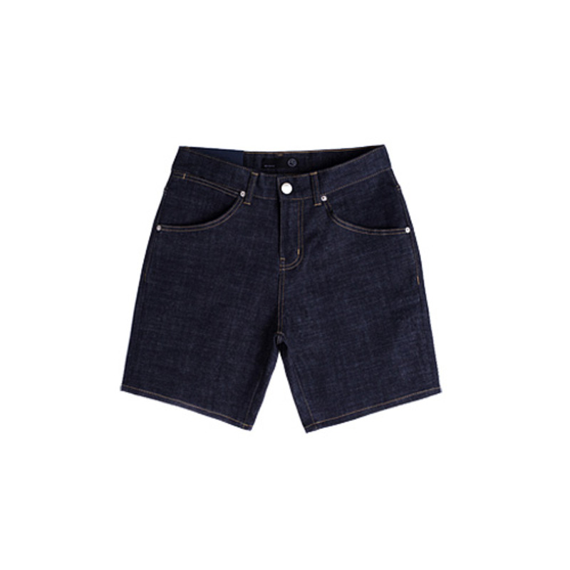 86RJ-1615 Deep Indigo Shorts Denim Pants