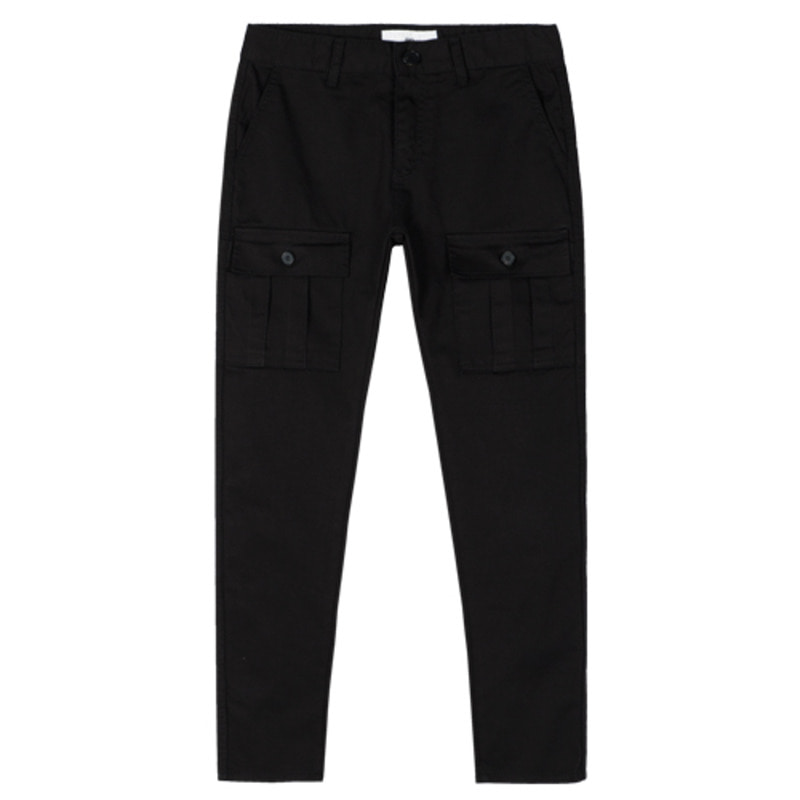 1720 Cargo pants (Black) / slim