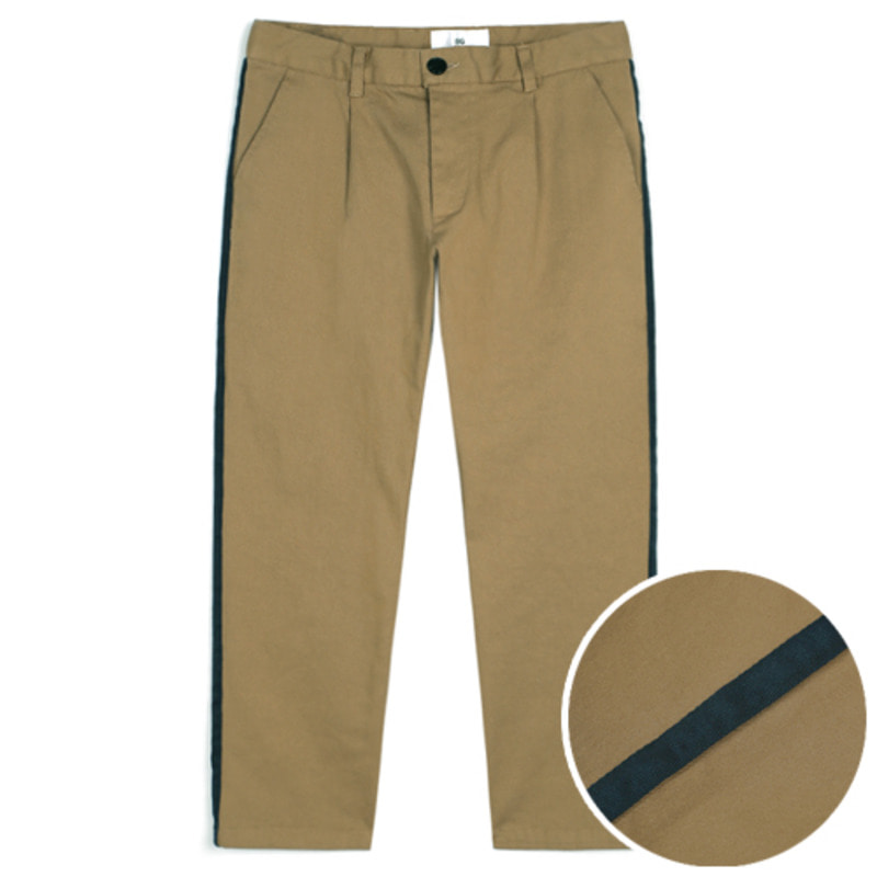 1802 Tape cotton pants(Beige) / standard