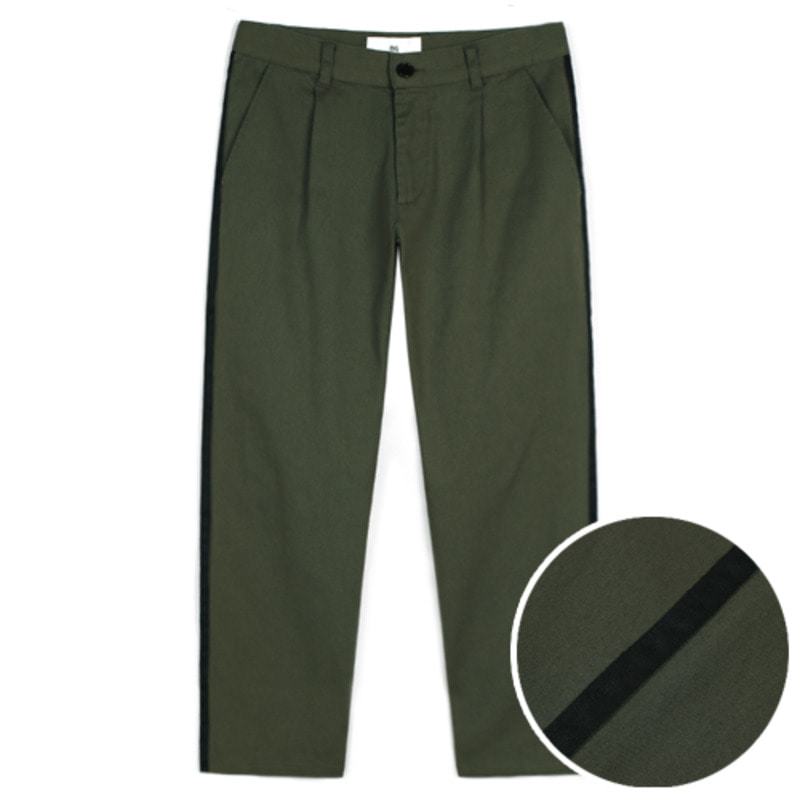 1802 Tape cotton pants(Khaki) / standard