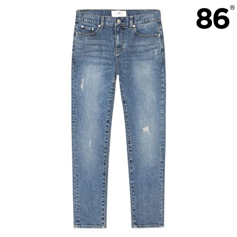 103K Blue Reworked Jeans / slim