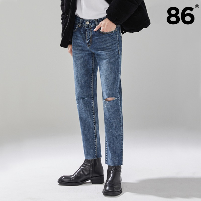 1831 Lapis Stone Washing Jeans / slim