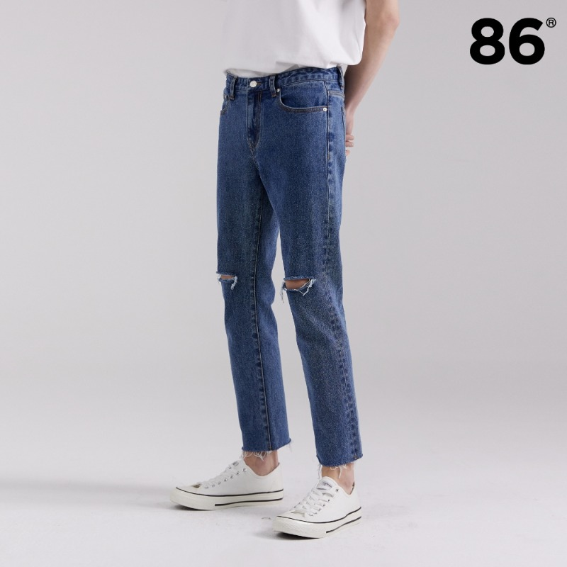 1713 slim cutting jeans M/BLUE(슬림핏)